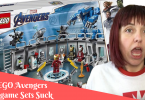 LEGO Avengers Endgame Sets problems